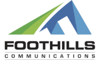 Foothills Communications Retina Logo